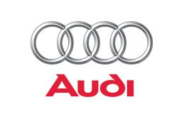 Audi motor vehicle presenting