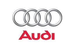 Audi motor vehicle presenting